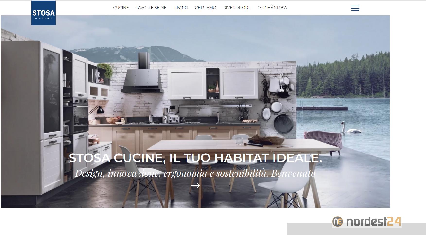 Stosa Cucine On Line Con Il Nuovo Sito Web Veste Grafica Rivisitata E Massima Usability Nordest24