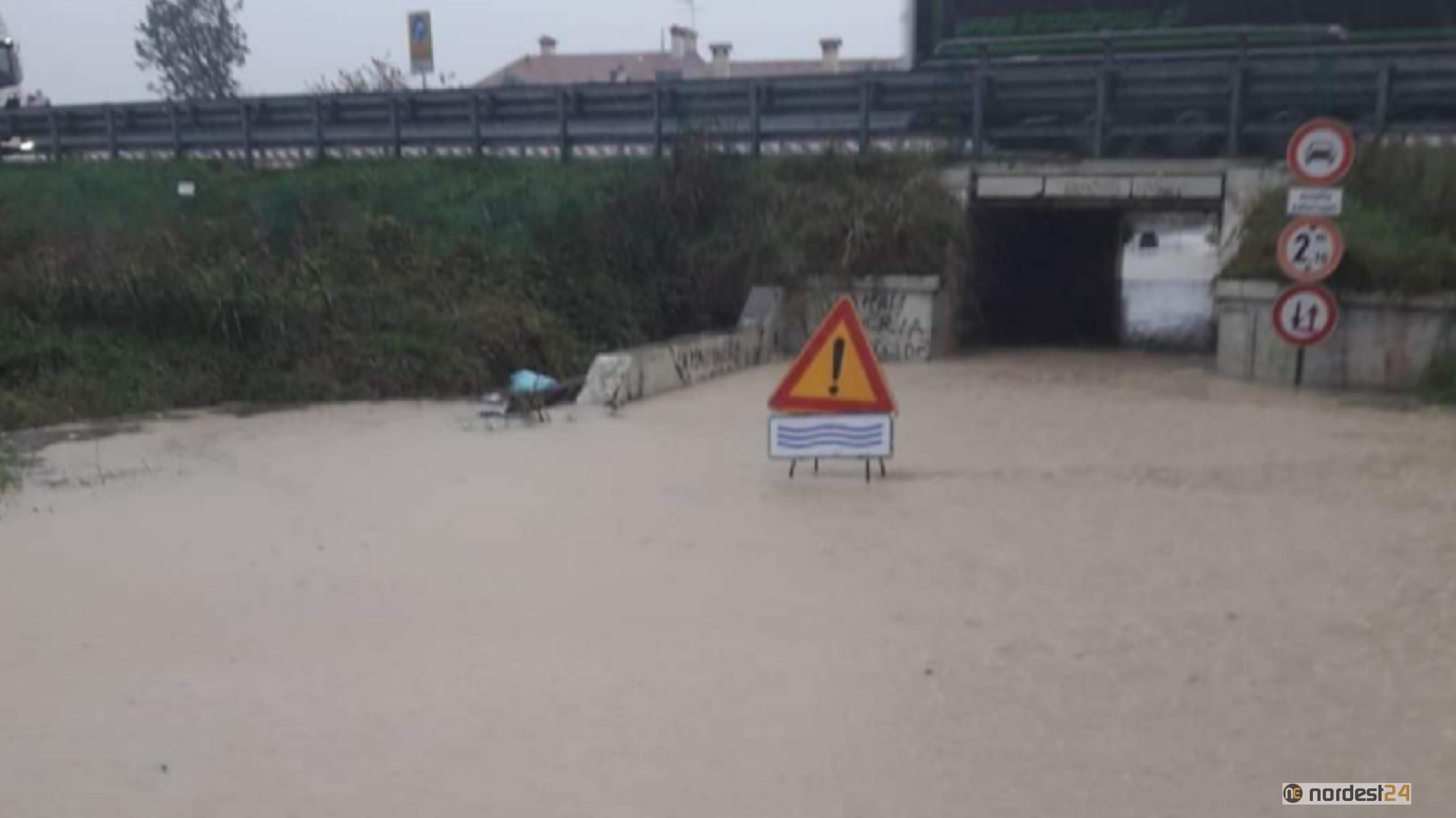 Nuove piogge in arrivo a Portogruaro: il Comune lancia l'allerta - Nordest24.it