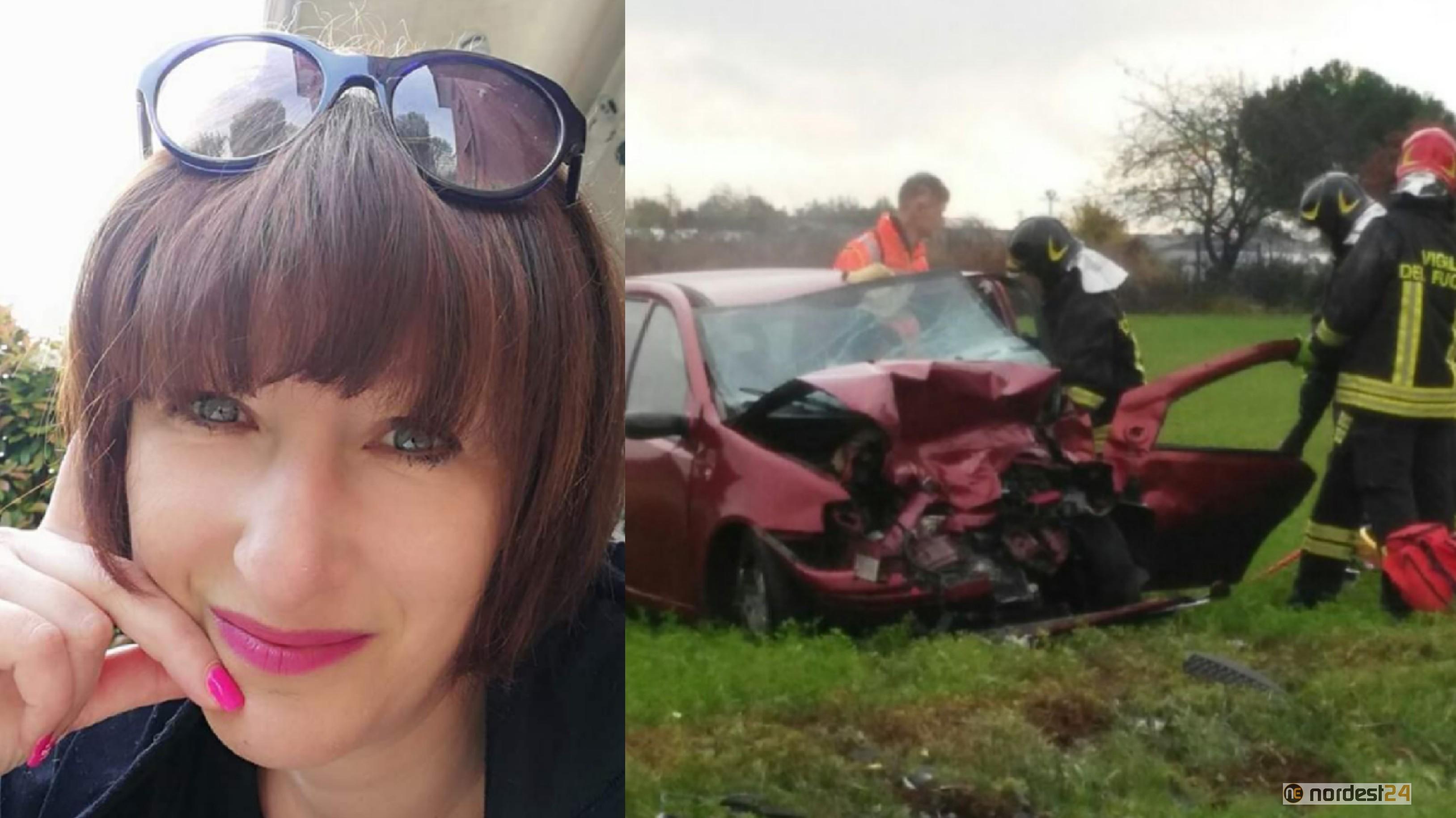 È morta Francesca Carrer in seguito all'incidente a Cordenons - Nordest24.it