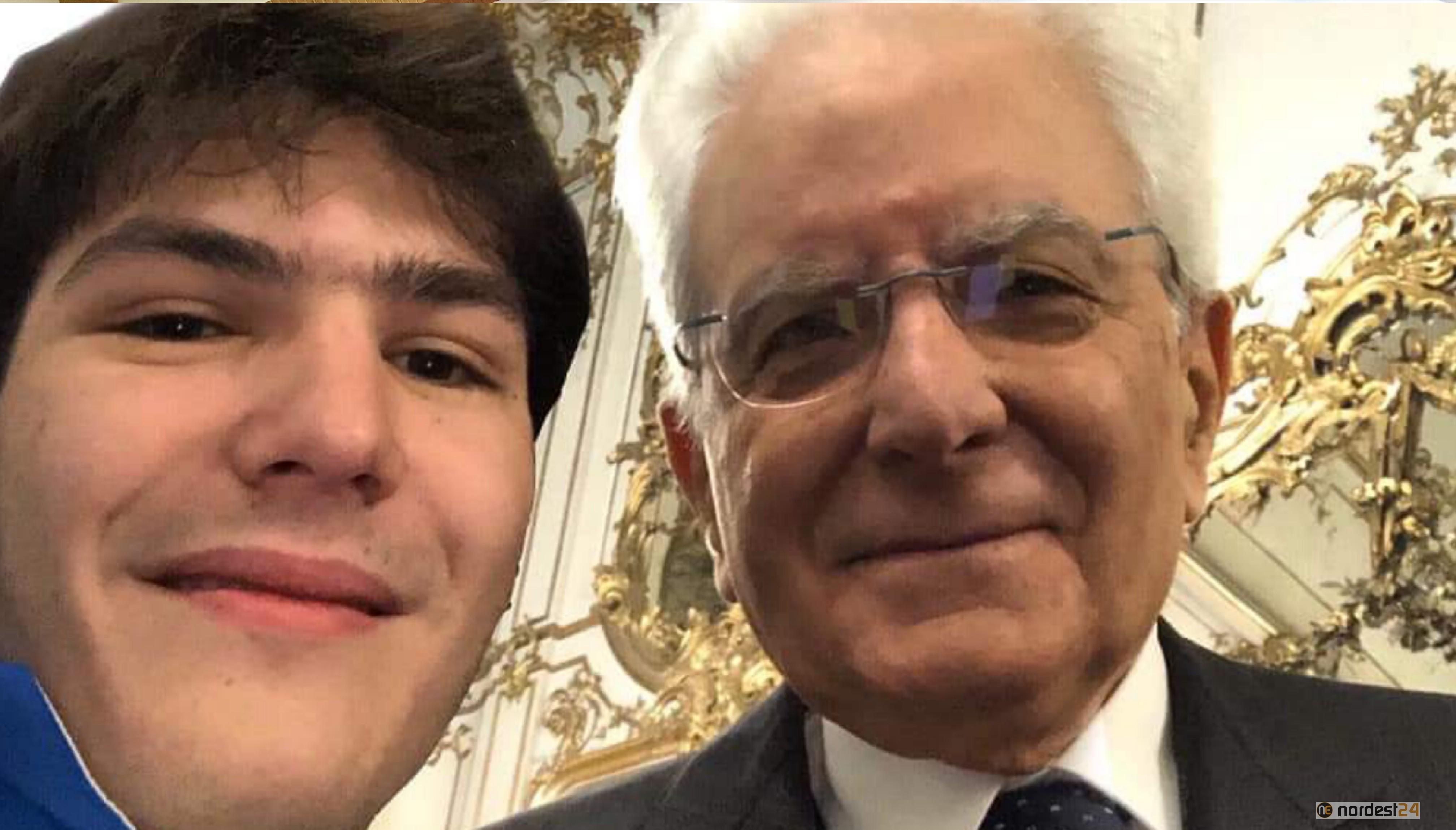 Da Bibione al Quirinale: Antonio Fantin incontra Mattarella - Nordest24.it