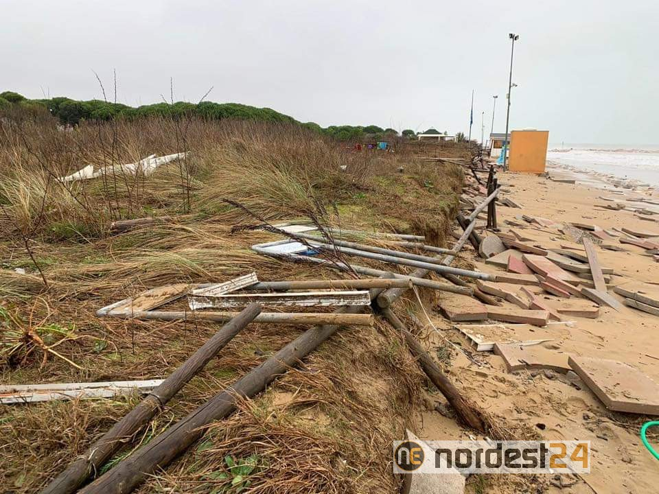 """A Jesolo albergatori preoccupati: """"la costa si sta modificando, danni sempre più frequenti"""" - Nordest24.it"""