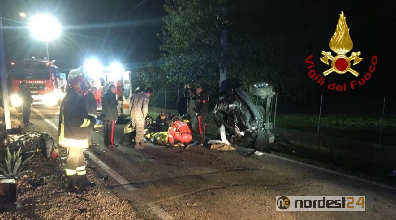 Incidente a Le Forcate di Fontanafredda: grave un 20enne - Nordest24.it
