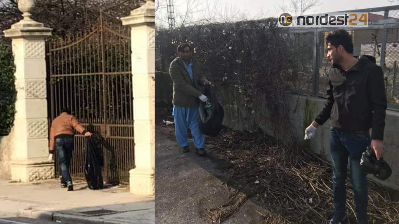 Giardino In Città Udine udine. migranti ripuliscono gratis strade e giardini della