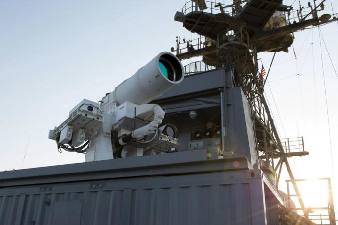 Usa: testato cannone laser anti-drone