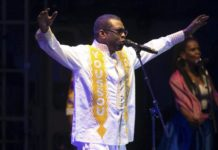 Concerto virtuale delle star d'Africa