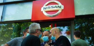 Barcellona, protesta operai Nissan