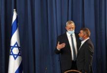 Gantz, dolore per uccisione palestinese