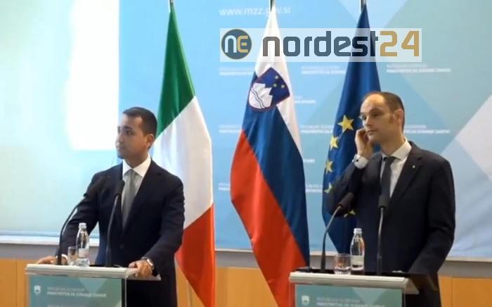 Coronavirus, Di Maio in Slovenia: focus su flussi turistici