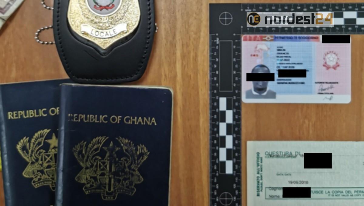 Esibisce Un Permesso Di Soggiorno Falso Denunciato 30enne Ghanese Nordest24