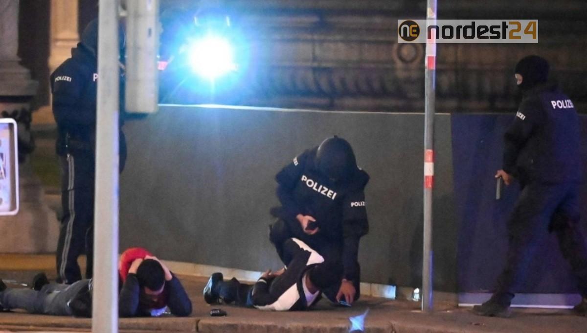 Attentato Vienna, le telecamere filmano un omicidio: il VIDEO è macabro