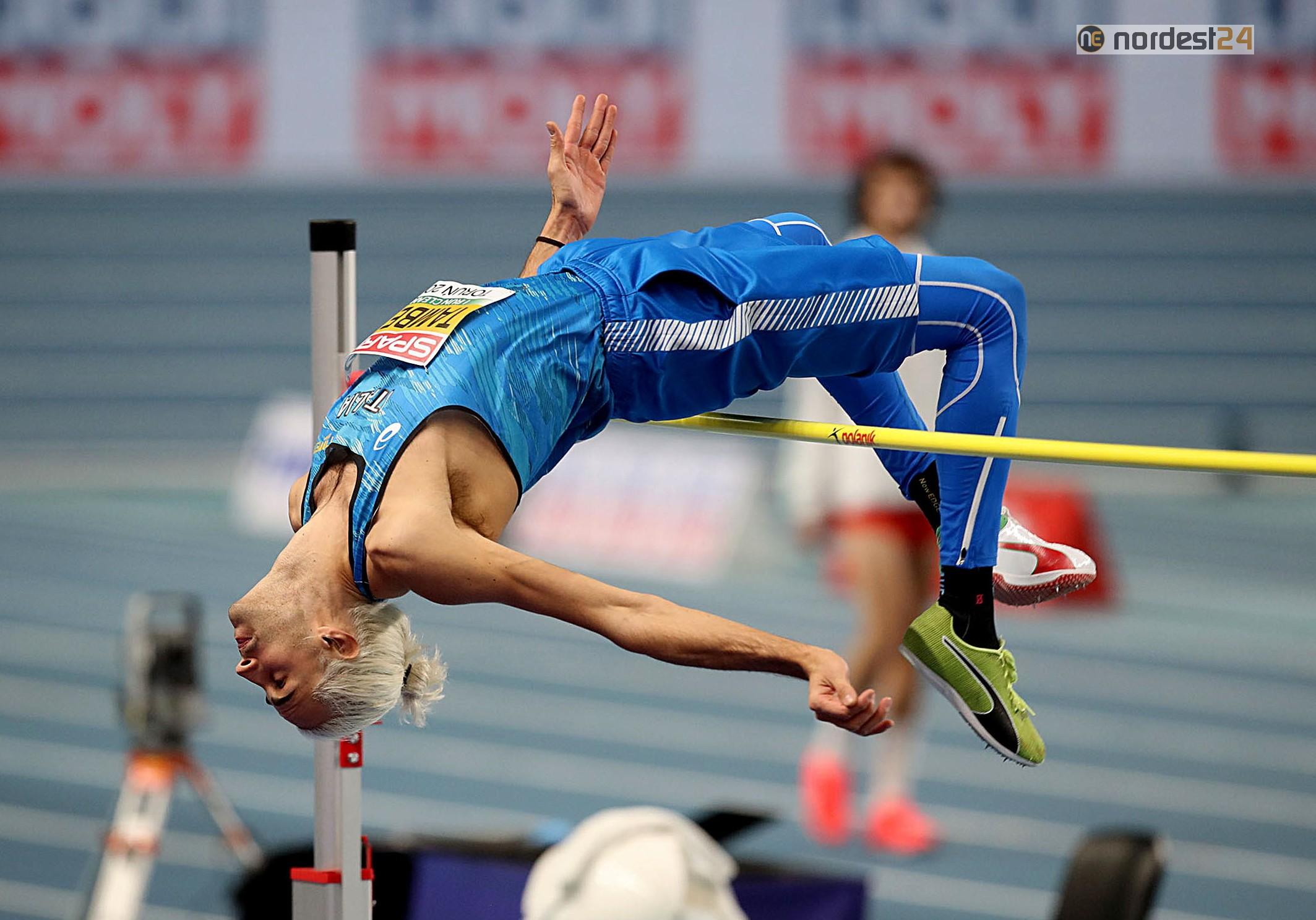 Europei indoor, Gianmarco Tamberi è secondo nella finale dell'alto –  Nordest24